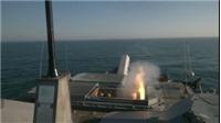 Xem siêu chiến hạm Mỹ USS Milwaukee lần đầu phóng thử tên lửa 'Lửa địa ngục'