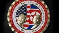 Nhà Trắng phát hành tiền xu ông Donald Trump, Kim Jong-un mặt đối mặt