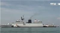 VIDEO: Ba tàu Hải quân Ấn Độ thăm thành phố Đà Nẵng