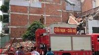 Sập nhà 3 tầng trong lúc tháo dỡ, nhiều người bị vùi lấp, 3 người thương vong