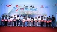 CGV chiếu phim miễn phí cho học sinh dân tộc thiểu số miền Trung