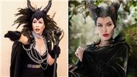Trịnh Kim Chi dựng 'Tiên hắc ám', tạo hình giống Angelina Jolie