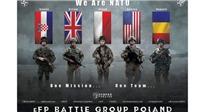 Cư dân mạng dậy sóng với poster lính NATO tập trận súng AK47 của Nga
