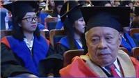 VIDEO: Cụ ông nhận bằng thạc sĩ ở tuổi 85