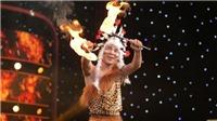 Xem 'Ảo thuật siêu phàm' tập 6: Lý Nhã Kỳ thót tim với thí sinh ăn lửa, nuốt rắn trên sân khấu