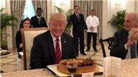 Tổng thống Mỹ Donald Trump làm gì trong ngày sinh nhật?