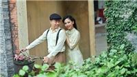 MC Mỹ Vân - Lê Anh tình tứ trong MV đầu tay 'Hướng về Hà Nội'