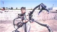 Triệu phú thiếu niên chế tạo thành công bộ đồ giống Tiến sỹ Bạch Tuộc phim 'Người Nhện'