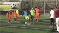 VIDEO Xúc động nhìn đội bóng một chân giữa 'chảo lửa' Gaza