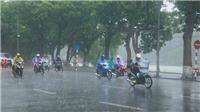 Nhiều vùng trong cả nước có mưa dông, rủi ro thiên tai tại phía Bắc do mưa lớn cấp 1-2