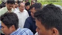 Bí thư Thành ủy Nguyễn Thiện Nhân thăm người dân bị ảnh hưởng bởi dự án Khu đô thị mới Thủ Thiêm
