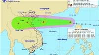 Áp thấp nhiệt đới đã mạnh lên thành cơn bão số 3, mưa rất to