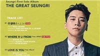 Album 'The Great Seungri': Chàng Gatsby thời hiện đại