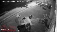VIDEO: Trộm đột nhập đánh cắp Toyota Venza để trước sân nhà