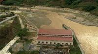 Vận hành xả tràn tại hồ thủy lợi lớn nhất tỉnh Nghệ An
