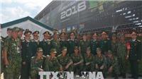 Việt Nam gây ấn tượng tại Army Games 2018