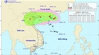 Đến 19 giờ ngày 16/8, tâm bão số 4 ở trên vùng biển các tỉnh từ Quảng Ninh đến Nam Định