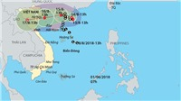 ĐỒ HỌA: Cơn bão số 4 trên Biển Đông