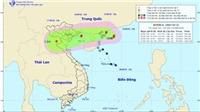 Bão số 4 có phạm vi gió mạnh giật cấp 8 tới 90km tính từ tâm bão