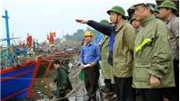 Bộ trưởng Nguyễn Xuân Cường kiểm tra công tác chống bão số 4 tại Đồ Sơn