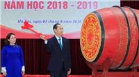 CẬP NHẬT Lễ Khai giảng: Chủ tịch nước Trần Đại Quang đánh trống Khai giảng tại Trường THPT Chu Văn An