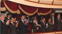 Chủ tịch nước Trần Đại Quang và Phu nhân dự hòa nhạc kỷ niệm 45 năm quan hệ ngoại giao Việt - Nhật