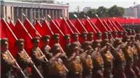 VIDEO: Cận cảnh lễ diễu binh nhân dịp 70 năm Quốc khánh của Triều Tiên