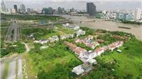 Dang dở dự án 4 tuyến đường chính Khu đô thị mới Thủ Thiêm