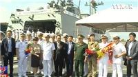Video tàu Hải quân Hàn Quốc thăm hữu nghị Đà Nẵng