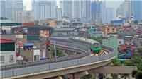 Hình ảnh đường sắt Cát Linh – Hà Đông chạy thử toàn tuyến