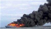 Cháy và chìm phà chở 147 người ở miền Trung Indonesia