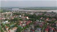 Thị xã Phú Thọ: Cúc áo vàng, đính trên dải lụa