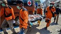 Động đất, sóng thần tại Indonesia: Số người thiệt mạng lên tới gần 1.250 người