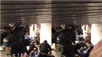 Sập thang máy ở nhà ga chính thủ đô Roma, Italy hơn 20 người bị thương