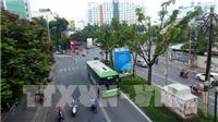 Lượng hành khách đi xe buýt ở Hà Nội tăng