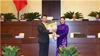 Quốc hội thông qua Nghị quyết phê chuẩn bổ nhiệm chức vụ Bộ trưởng Bộ TTTT đối với ông Nguyễn Mạnh Hùng