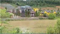 Hoạt động xây dựng tại rừng phòng hộ Sóc Sơn vẫn tiếp diễn