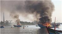 Điều tra vụ nổ tàu cá trên biển làm nhiều người thương vong