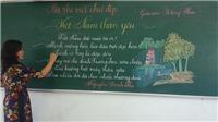 Chuyện bài thi chữ đẹp của giáo viên Trường Tiểu học Trưng Vương: Nét chữ - nét người