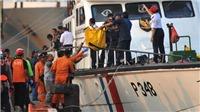 Rơi máy bay tại Indonesia: Có thể sớm trục vớt được hộp đen từ đáy biển