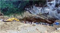 Tạm giữ chủ bãi khai thác vàng trái phép sau vụ sập hang ở Hòa Bình