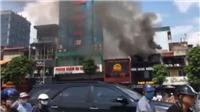 Hà Nội: Kịp thời dập tắt vụ hỏa hoạn tại cửa hàng ăn