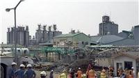Vụ nổ nhà máy Hàn Quốc khiến 4 công nhân Việt Nam bị nạn do chập bóng đèn điện hàn