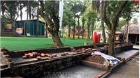 Chủ đầu tư tháo dỡ công trình vi phạm quy hoạch Khu Di tích lịch sử đặc biệt Đền Hùng, Phú Thọ