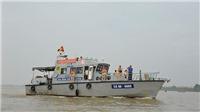 Hà Nội ra quân bảo đảm trật tự an toàn giao thông, trật tự xã hội trên tuyến sông Hồng