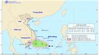 Áp thấp nhiệt đới giật cấp 9 trên Biển Đông, đêm nay không khí lạnh sẽ đổ bộ