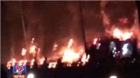 Cập nhật thông tin về vụ cháy xe bồn chở xăng tại Bình Phước
