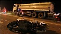 Va chạm với xe điện , người đàn ông bị đâm tử vong trên cầu Vĩnh Tuy