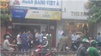 Thành phố Hồ Chí Minh: Phong tỏa hiện trường, điều tra nghi vấn một vụ cướp ngân hàng