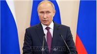 Số phóng viên kỷ lục dự cuộc họp báo năm 2018 của Tổng thống Nga Vladimir Putin